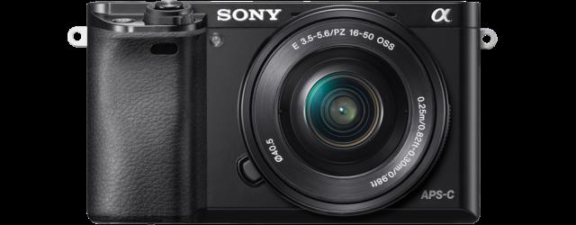 Sony Alpha A6000, foto 'geleend' van de Sony site