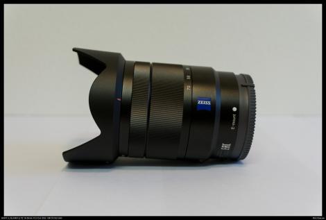 Sony Carl Zeiss 16-70mm f4 uitgezoomd op 16mm