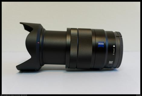 Sony Carl Zeiss 16-70mm f4 ingezoomd op 70mm