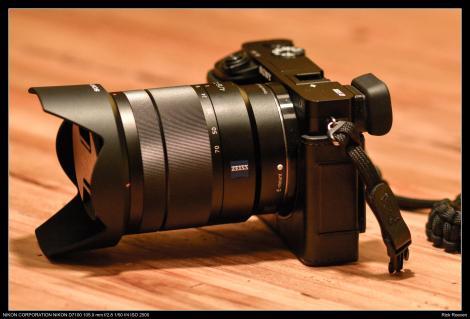 Sony Alpha A6000 met Zeiss Vario Tessar T*E 16-70 f4 ZA OSS